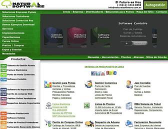 naturalsoftware.com.ar screenshot