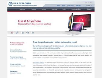 ufsexplorer.com screenshot