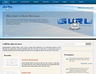 gurusistemas.com screenshot
