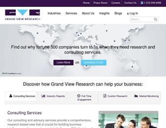 grandviewresearch.com screenshot