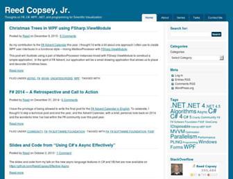 reedcopsey.com screenshot