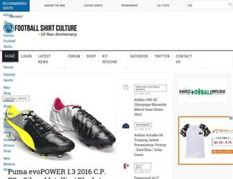 Thumbshot of Footballshirtculture.com