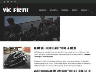 vicfirth.com screenshot