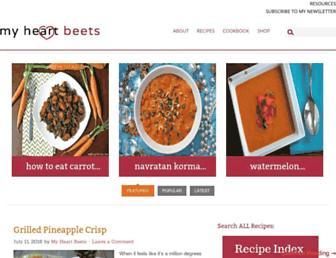 myheartbeets.com screenshot