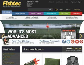 Screenshot for fishtec.co.uk