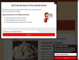 Thumbshot of Recipesthatcrock.com