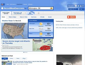accuweather.com screenshot