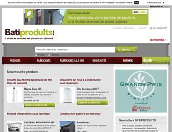 batiproduits.com screenshot
