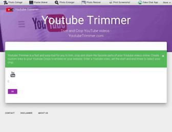 youtubetrimmer.com screenshot
