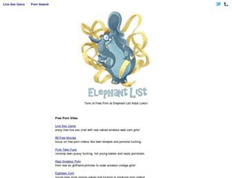 Elephantlist