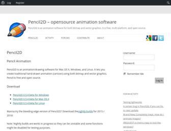 pencil2d.org screenshot