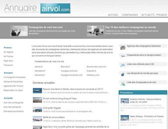 annuaire-airvol.com screenshot