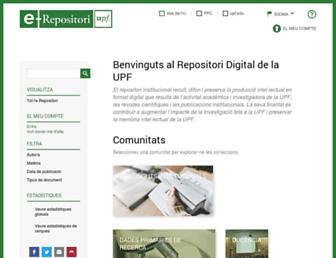 repositori.upf.edu screenshot