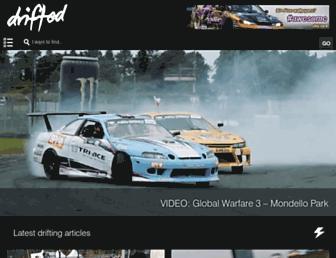 drifted.com screenshot