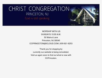 Main page screenshot of ccprinceton.org