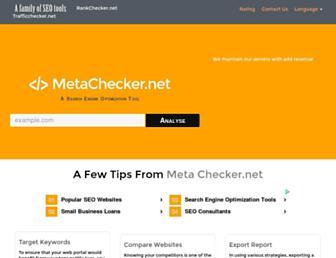 Thumbshot of Metachecker.net