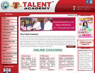 talentacademy.co.in screenshot