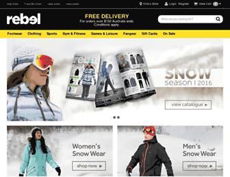 Thumbshot of Rebelsport.com.au