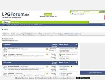 lpgforum.de screenshot