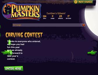 Thumbshot of Pumpkinmasters.com