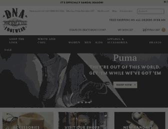 Thumbshot of Dnafootwear.com