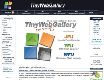 Thumbshot of Tinywebgallery.com