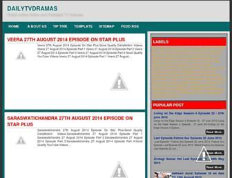 dailytvdramas.blogspot.com screenshot