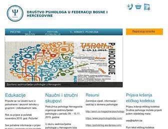 dpfbih.ba screenshot