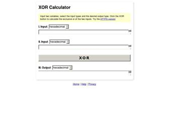 xor.pw screenshot