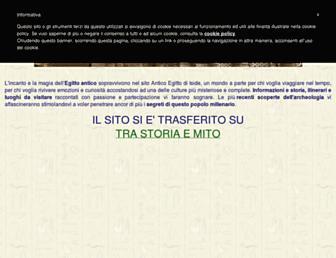 Main page screenshot of anticoegitto.net