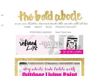 Thumbshot of Theboldabode.com