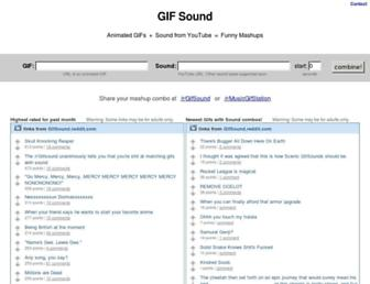 Thumbshot of Gifsound.com