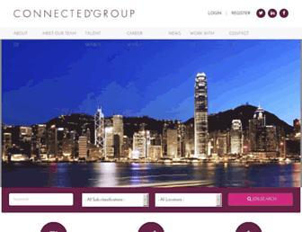 connectedgroup.com screenshot
