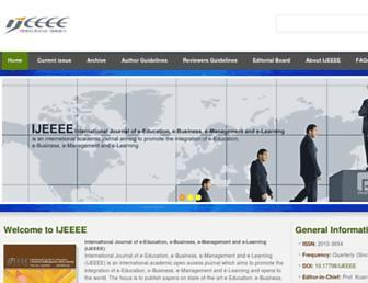 ijeeee.org screenshot