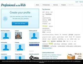Thumbshot of Professionalontheweb.com