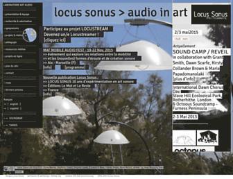 locusonus.org screenshot