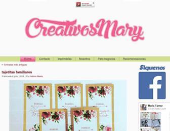 creativosmary.com screenshot