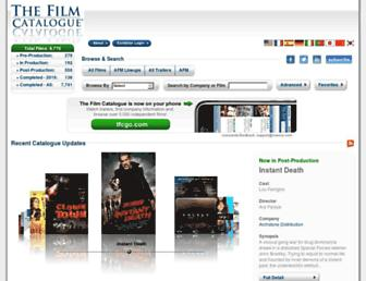 Thumbshot of Thefilmcatalogue.com