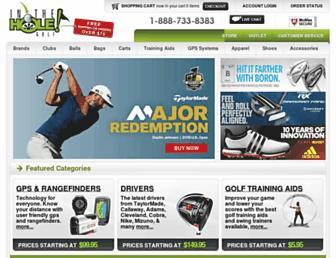 intheholegolf.com screenshot