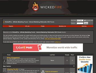 Thumbshot of Wickedfire.com
