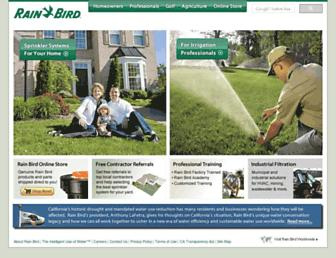 Thumbshot of Rainbird.com