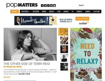 Thumbshot of Popmatters.com