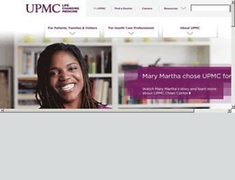 Thumbshot of Upmc.com
