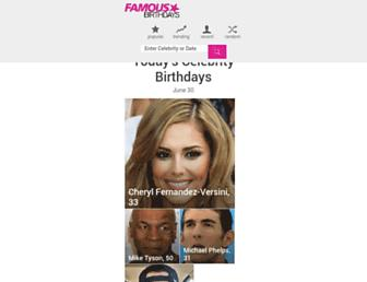 Thumbshot of Famousbirthdays.com