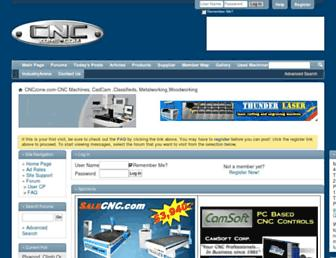 cnczone.com screenshot
