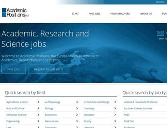 Thumbshot of Academicpositions.eu