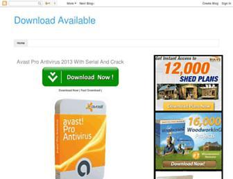 downloadavailables.blogspot.com screenshot