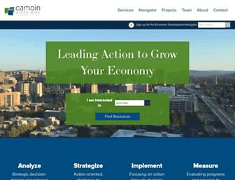 camoinassociates.com screenshot