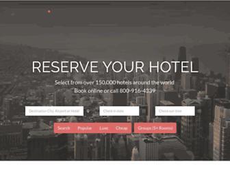 reservations.com screenshot