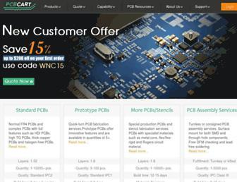 pcbcart.com screenshot